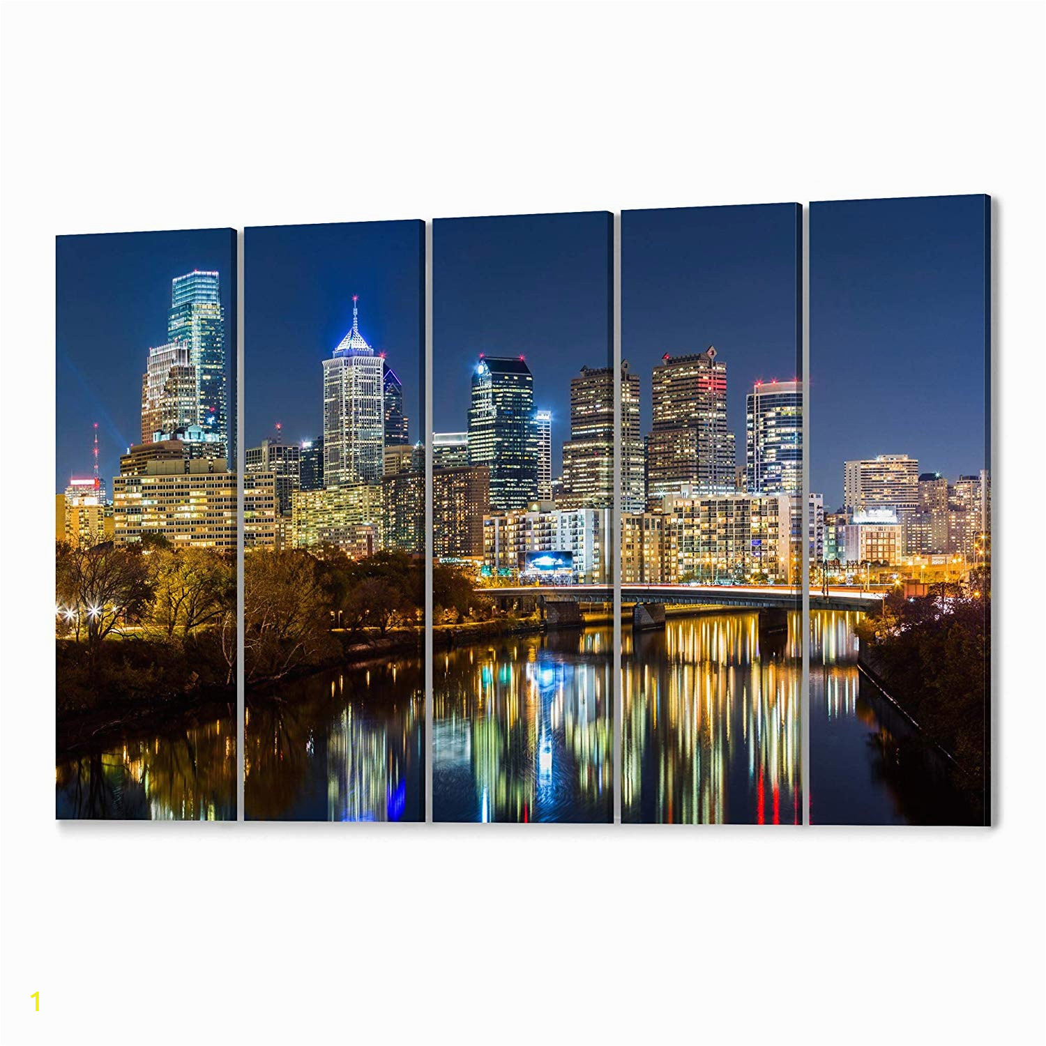 Philadelphia Skyline Wall Mural Amazon Philadelphia Skyline Wall Art Philadelphia