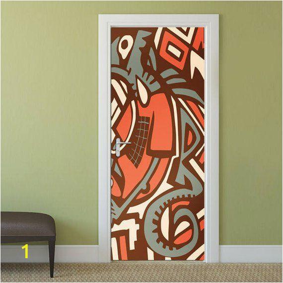 Photo Wall Mural Door Graffiti Door Decal Graffiti Wall Art Door Sticker