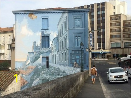 Pictures Into Wall Murals How Angoulªme France Became A Street Art Capital Condé