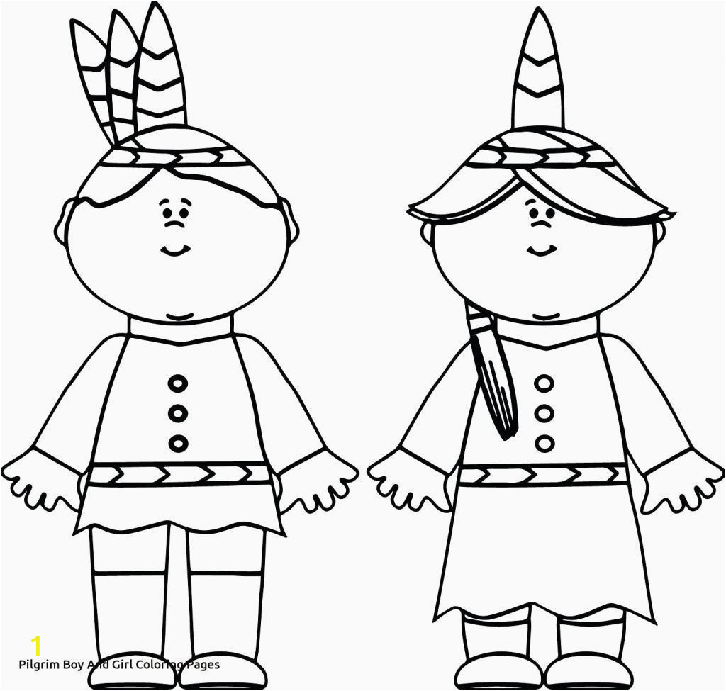 pilgrim coloring pages family thanksgiving splendi girl page
