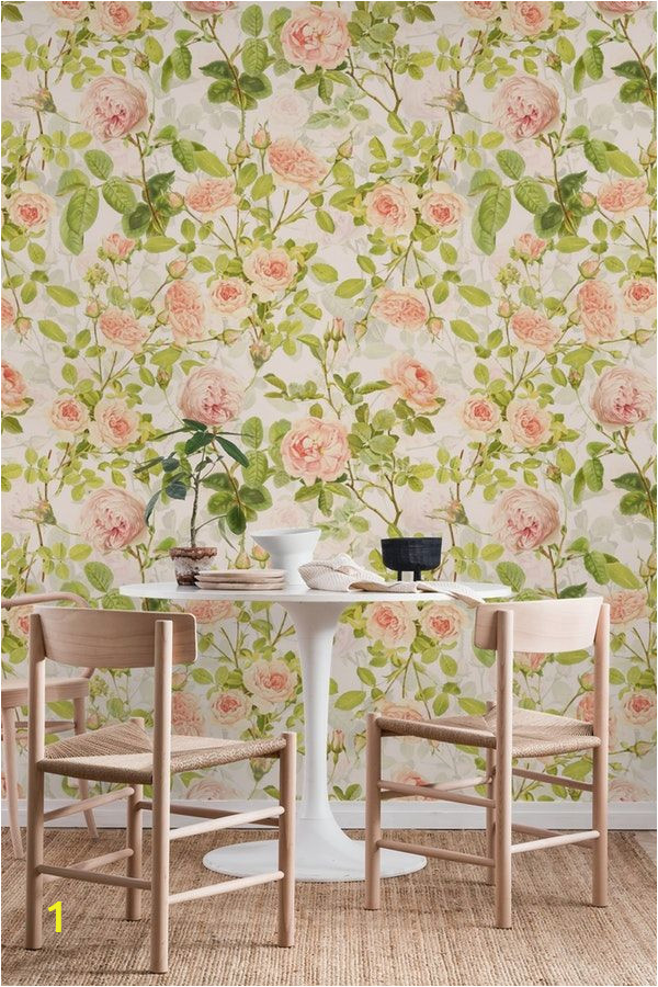 Pink Rose Wall Mural Pin On Patterns Wall Murals