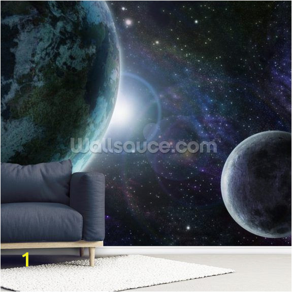 Planet Earth Wall Mural Blue Planet Earth Dorgicse Halo In 2019