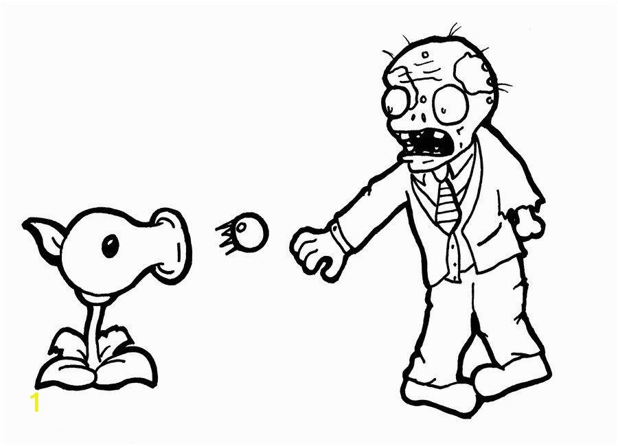 Plants Versus Zombies Coloring Pages Plants Vs Zombies Coloring Pages Free Coloring Pages for