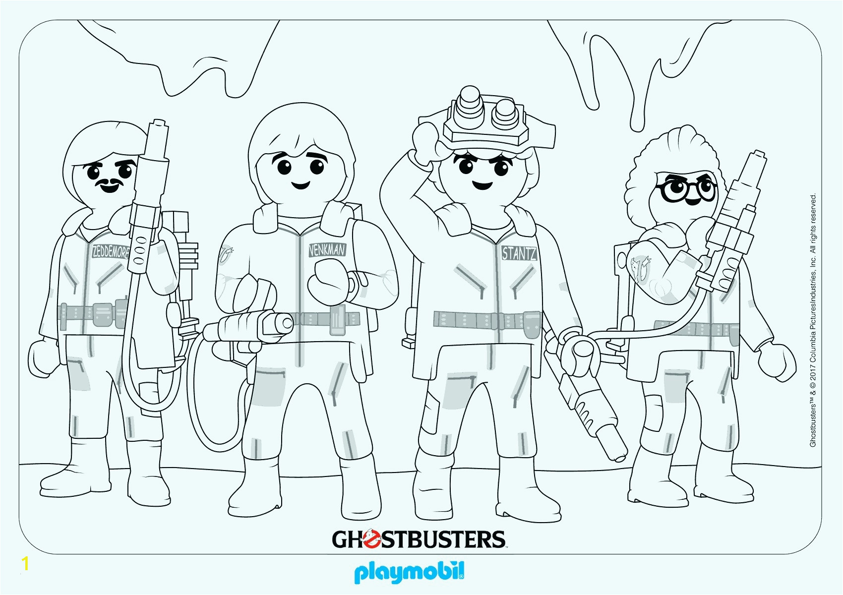 playmobil ghostbusters coloring pages | divyajanani