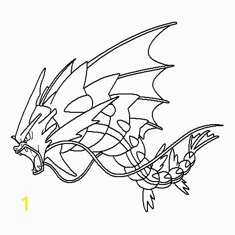 Pokemon Mega Gyarados Coloring Pages Mega 130 Gyarados Coloring Page by Nikki M Garrett On Deviantart