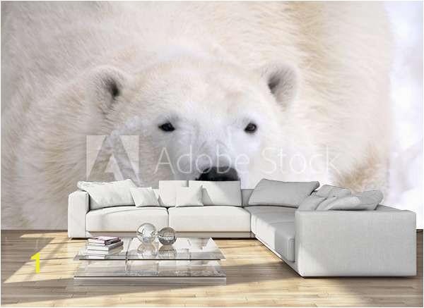 home design living room sofa apartament sylvie bouchard polar bear laying down C
