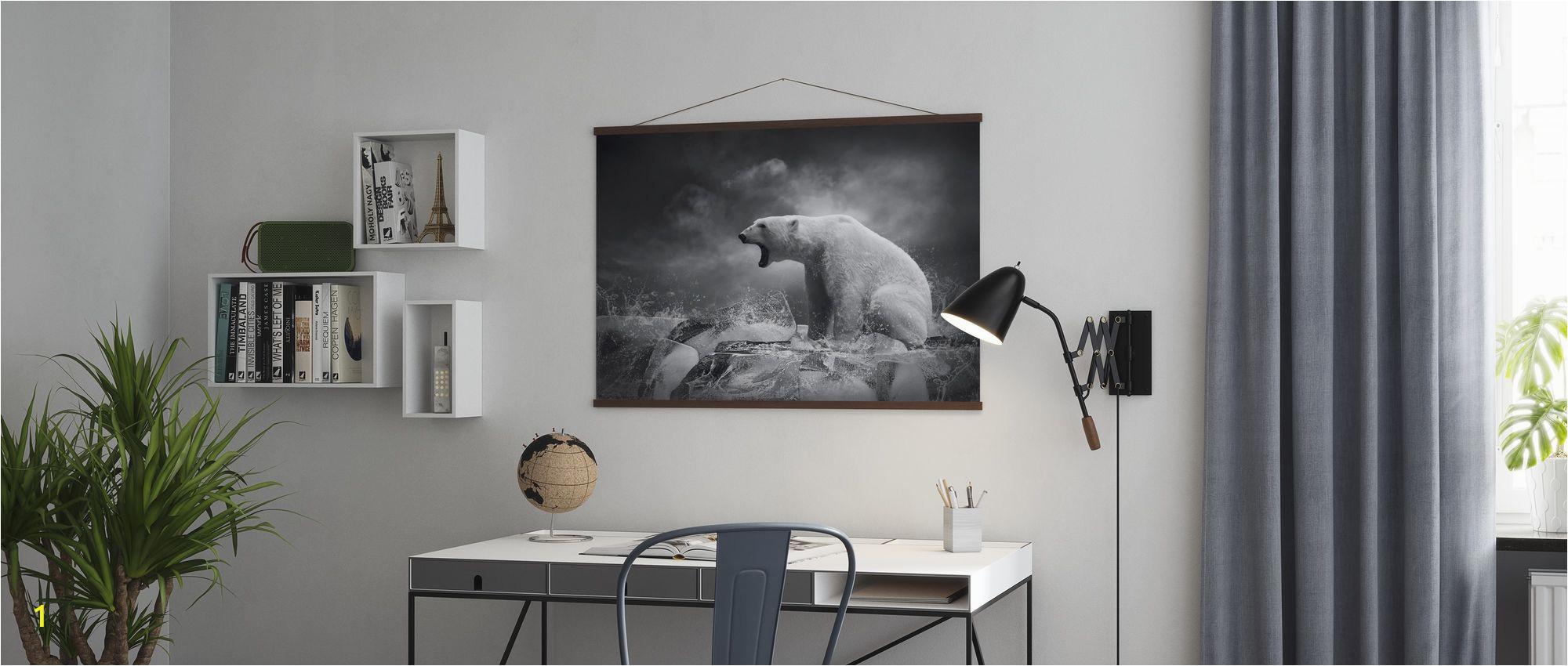 Polar Bear Wall Mural 1