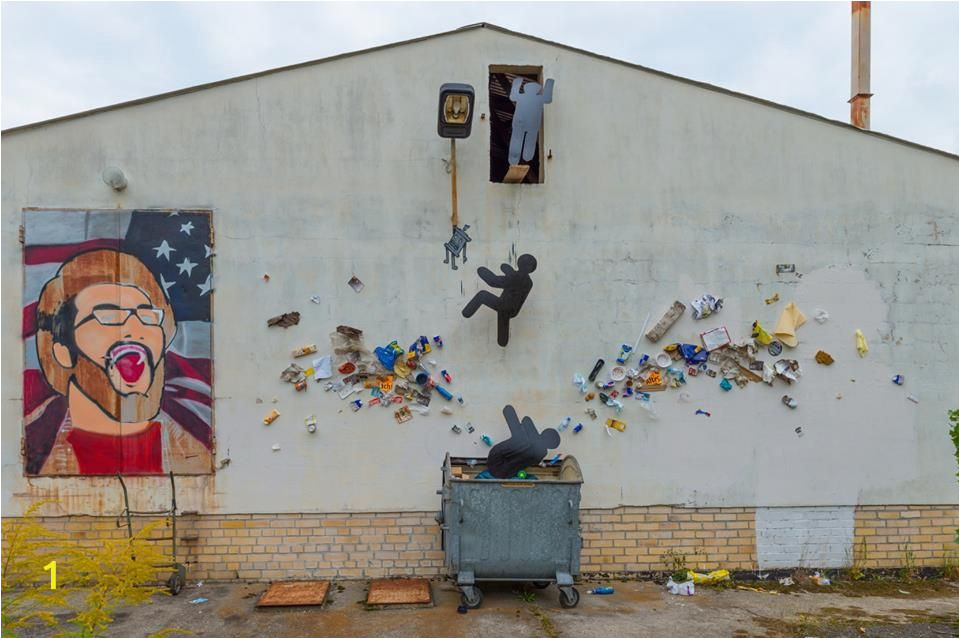 Pop Art Wall Mural Basura Art