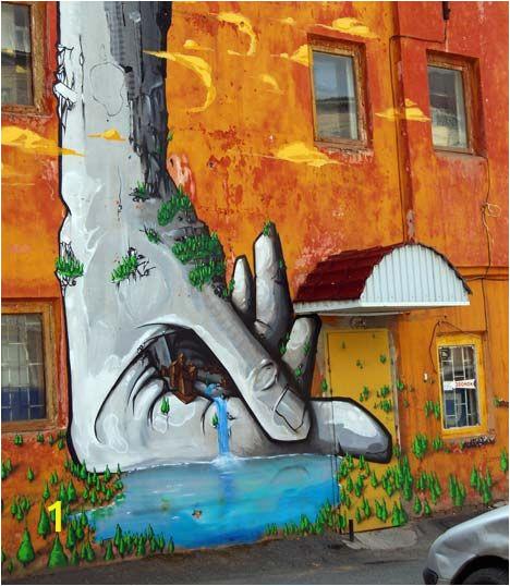 Pop Art Wall Mural Street Level Pop Art