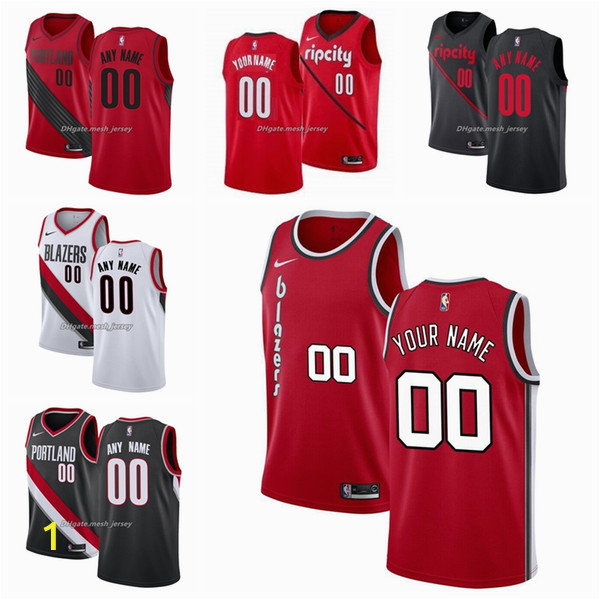 Portland Trail Blazers Coloring Pages 2019 16 Custom Portlandtrailblazers Men Women Kid Name Number Jersey 00 Anthony 0 Lillardnba 3 Mccollum Basketball Jerseys White B From Ptbunion9