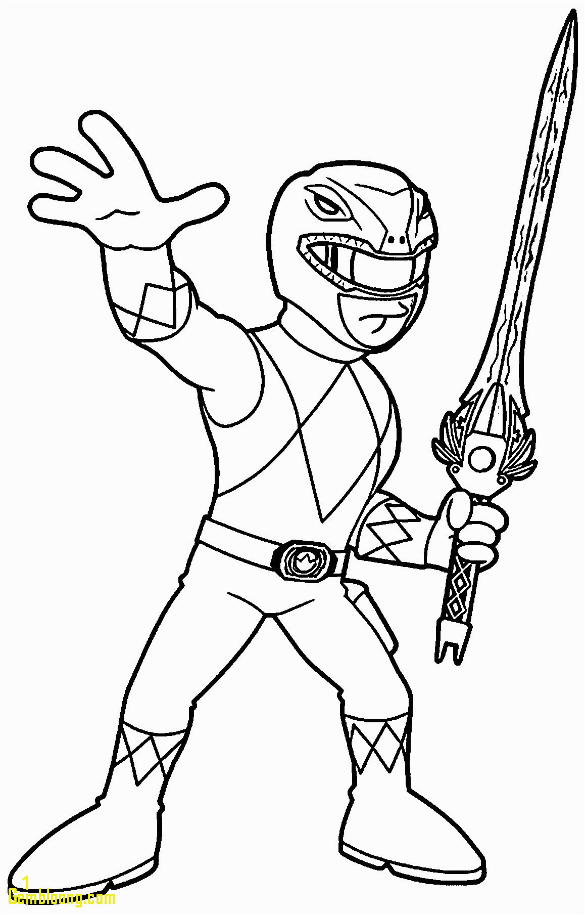 coloring picture power ranger pages for kids of rangers book ccnaquestions dino charge pictures megazord red page