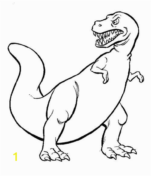 simple dinosaur coloring pages lovely dinosaur who has sharp teeth coloring for kids of simple dinosaur coloring pages