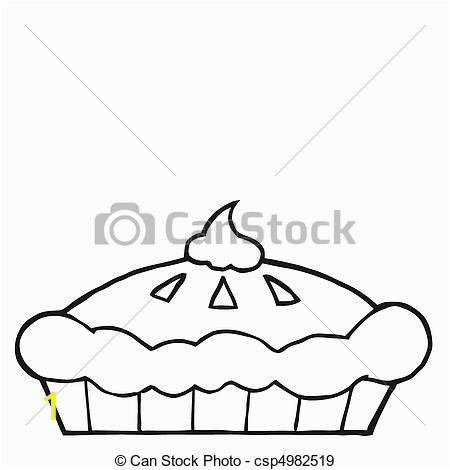 outlined thanksgiving pie drawing csp