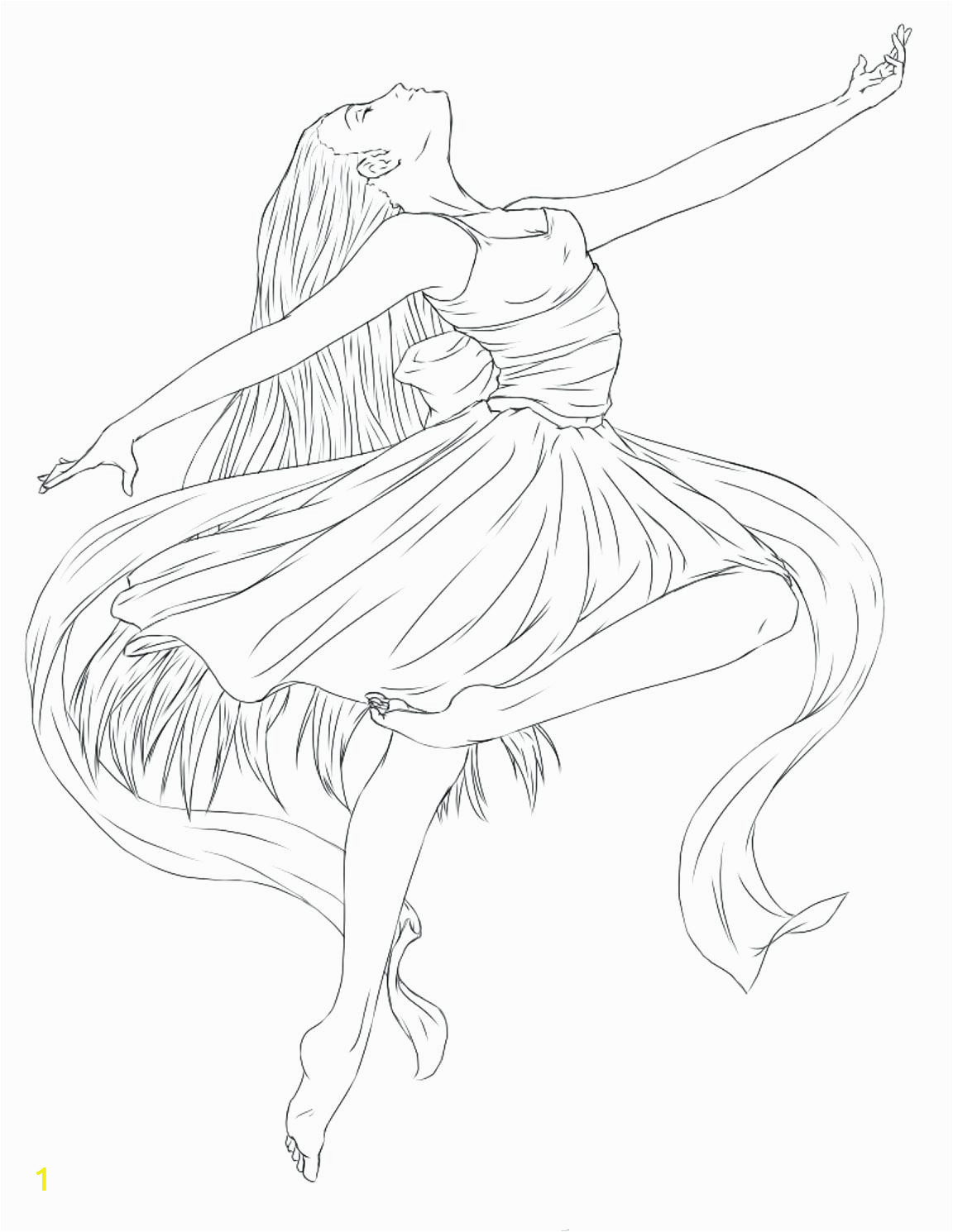 ballerina coloring pages free of ballet toe shoes