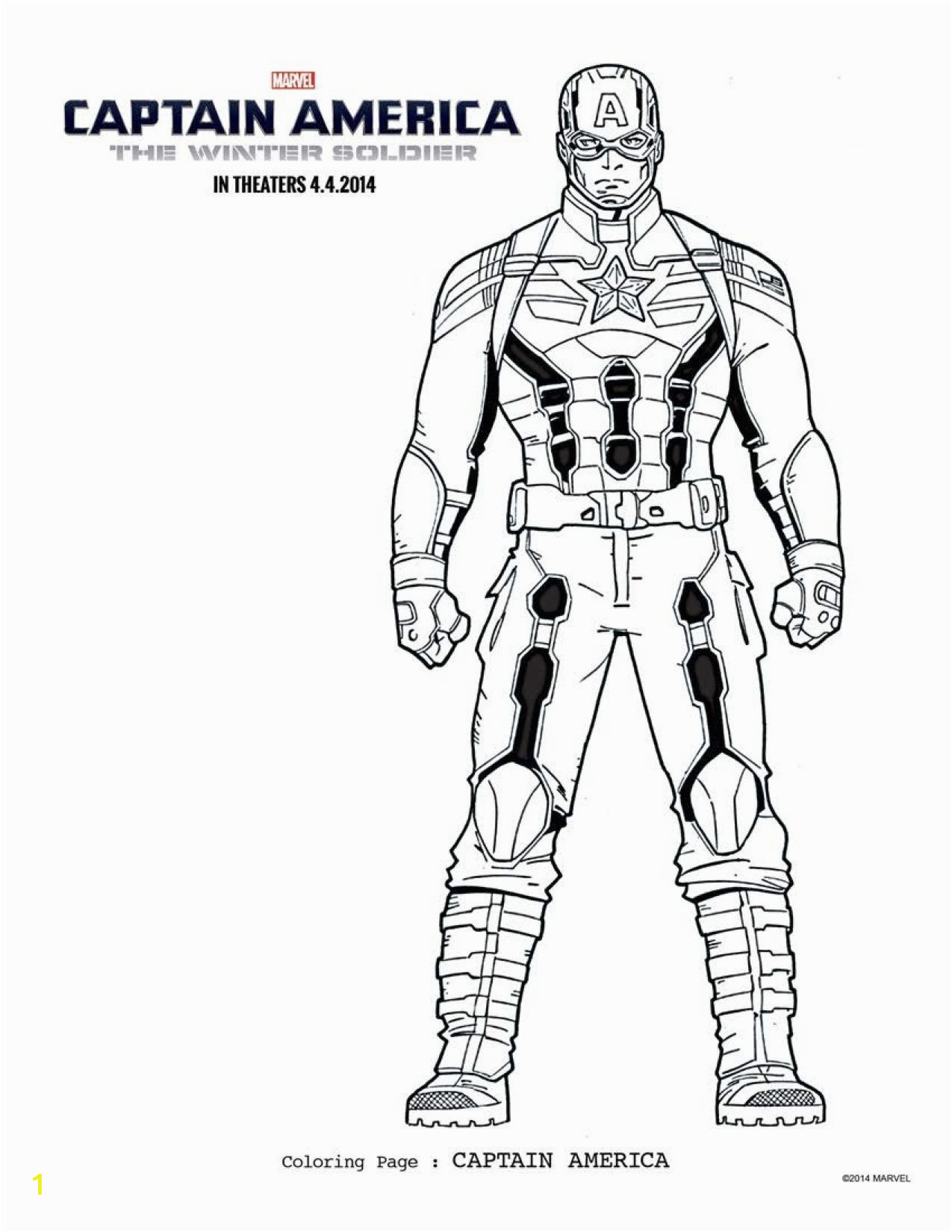 Printable Captain America Coloring Pages Free Captain America Coloring Pages Download Printables