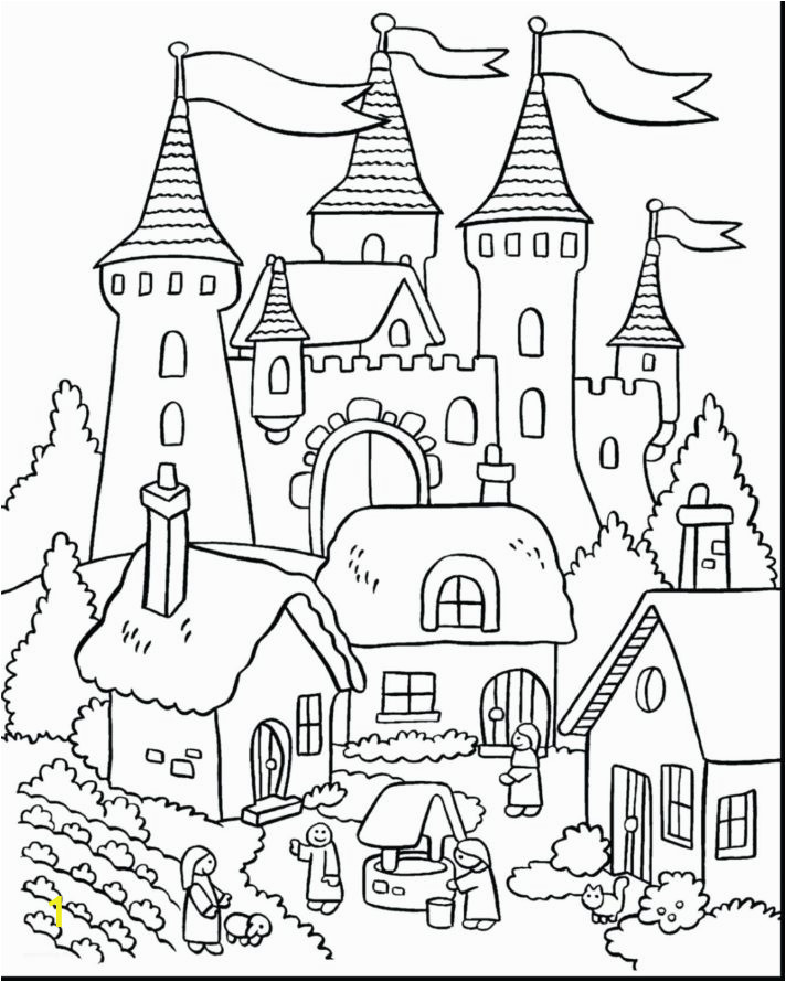 Printable Castle Coloring Pages 45 Most Skookum Coloring Pages with Light House and Fairy