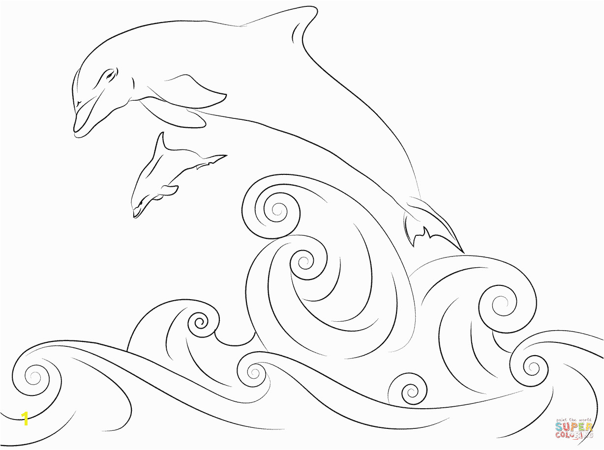 Printable Coloring Pages Dolphin Pin by Ann Armstrong On Coloring Pages