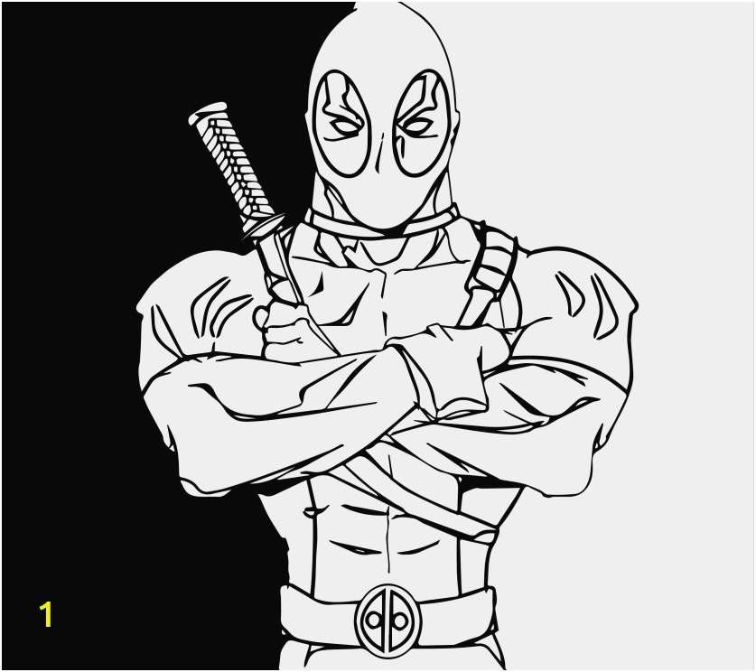 Printable Deadpool Coloring Pages Deadpool Coloring Pages Gallery Cool Deadpool Coloring Pages