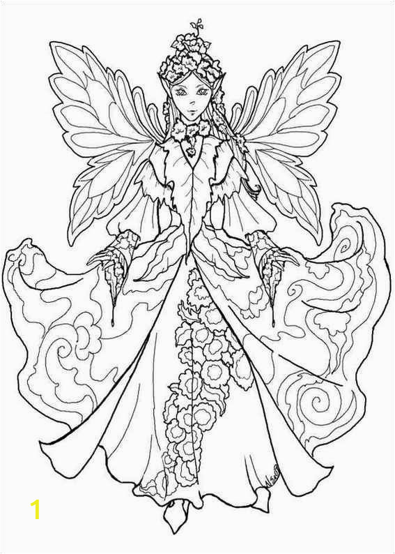 Printable Fairy Princess Coloring Pages Image Detail for Fairies Coloring Page Fairies Coloring