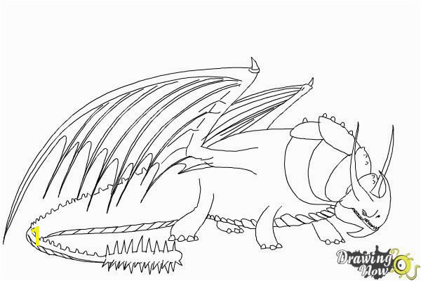 Printable How to Train Your Dragon Coloring Pages How to Draw Skullcrusher From How to Train Your Dragon 2