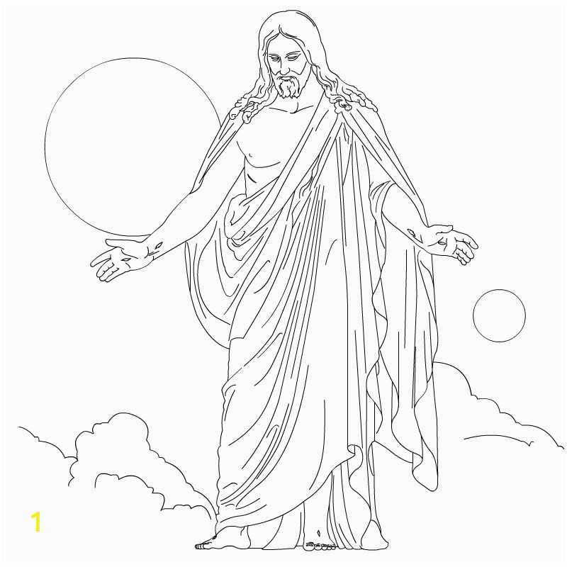 Printable Jesus Coloring Pages Free Printable Jesus Coloring Pages for Kids