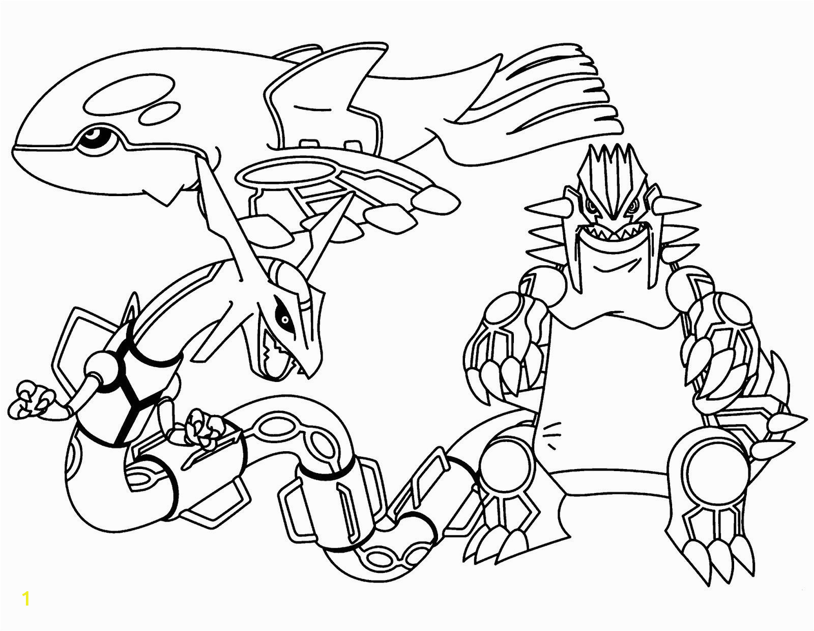 legendary pokemon coloring pages rayquaza through the printable for free