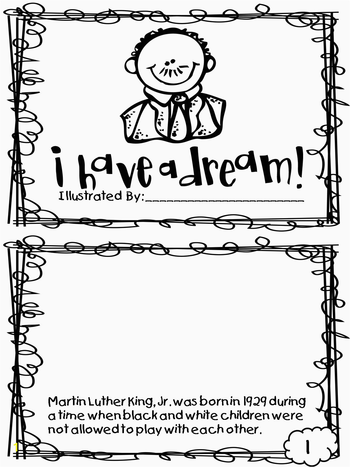 coloring book pages to printin luther king jr dr sheets printable