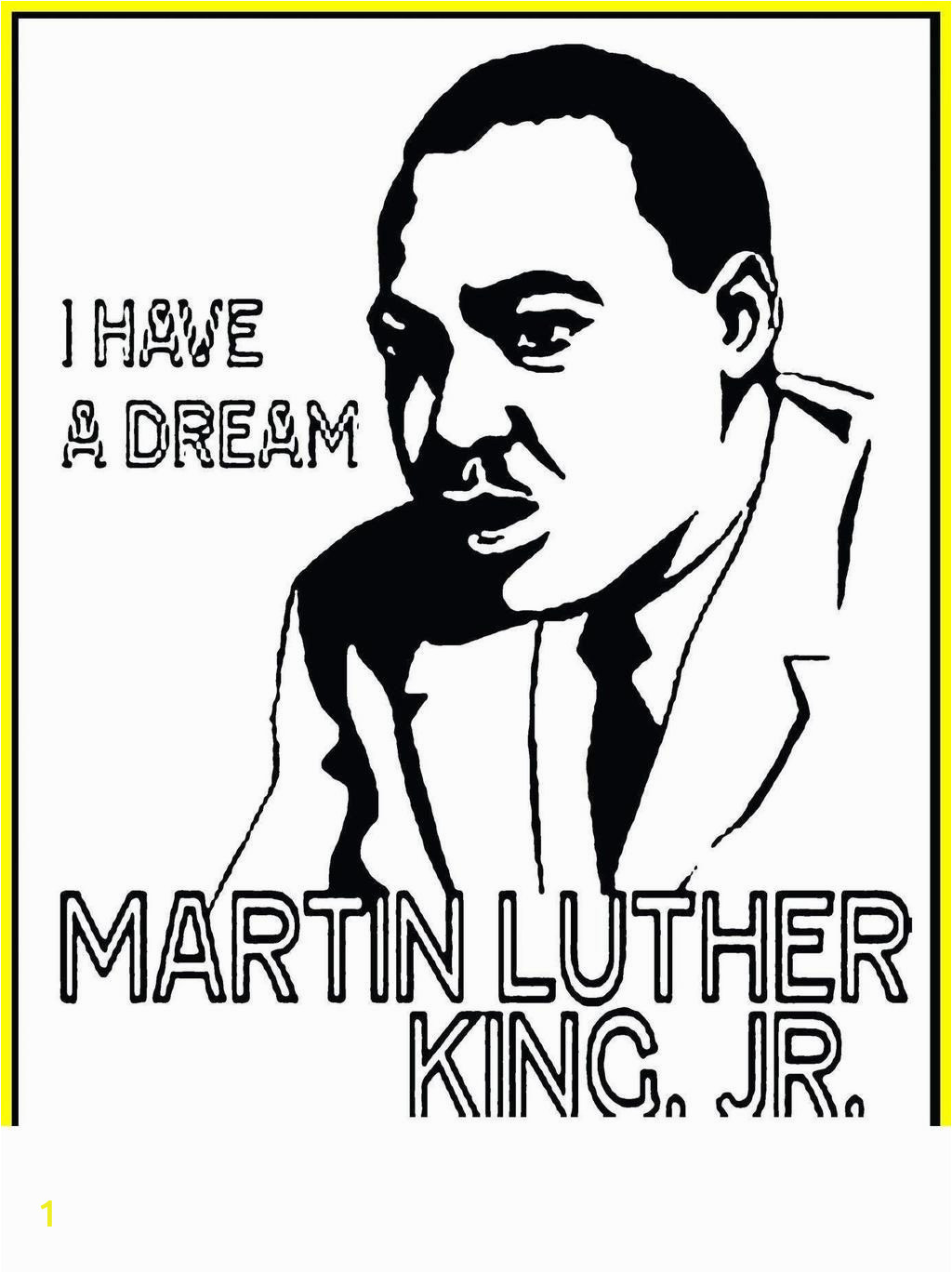 martin luther king jr printable coloring pages kingr page book animals