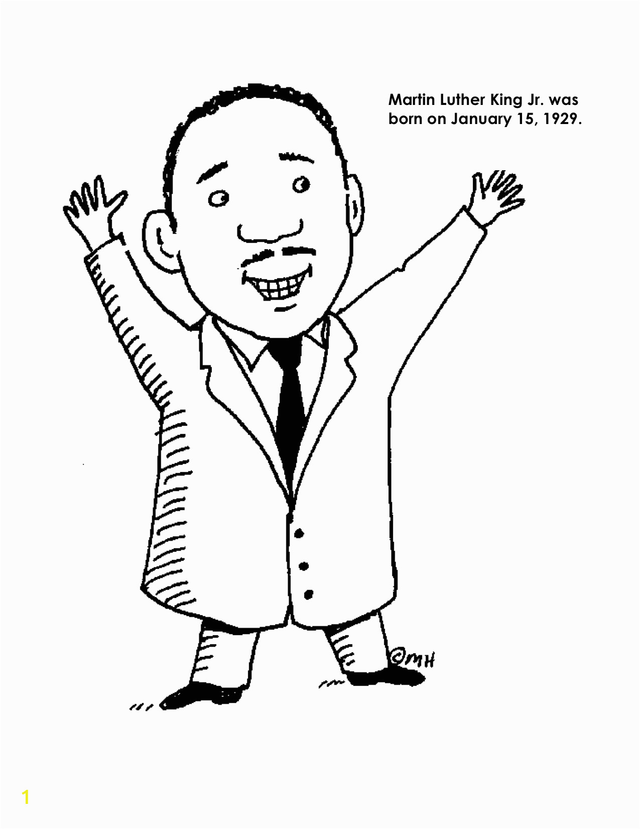 coloring pages martin luther king jr page image ideas and worksheets dr