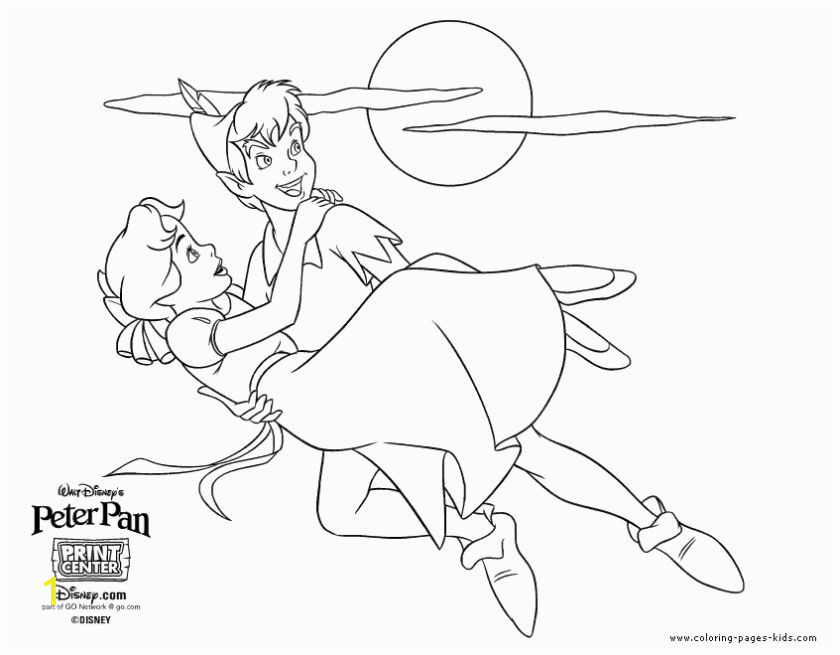 Peter Pan Coloring Book Pages bha2l