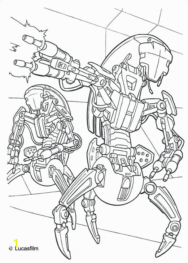 maul robots coloring page movie pages star wars free rebels