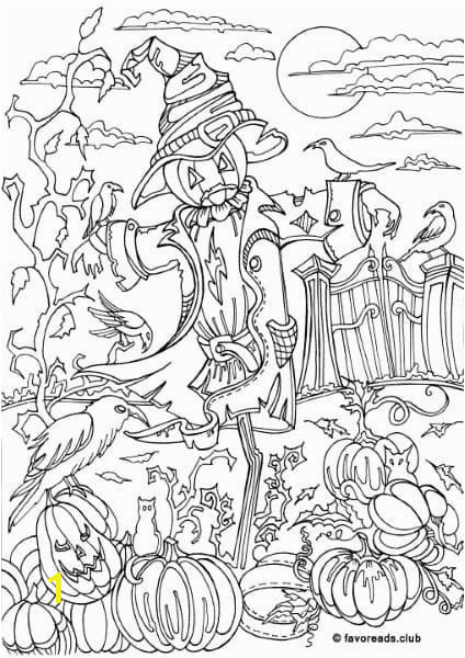 Printable Scarecrow Coloring Pages Pin by Shenanigans Xoxo On Adult Coloring Pages the Best Of
