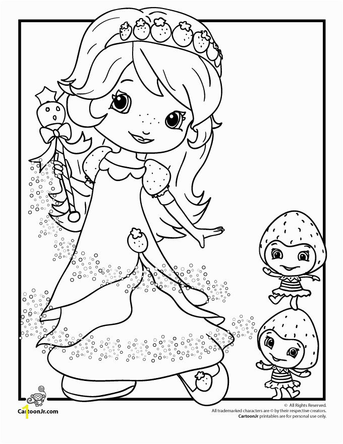 Printable Strawberry Shortcake Coloring Pages Strawberry Shortcake Coloring Pages Strawberry Shortcake