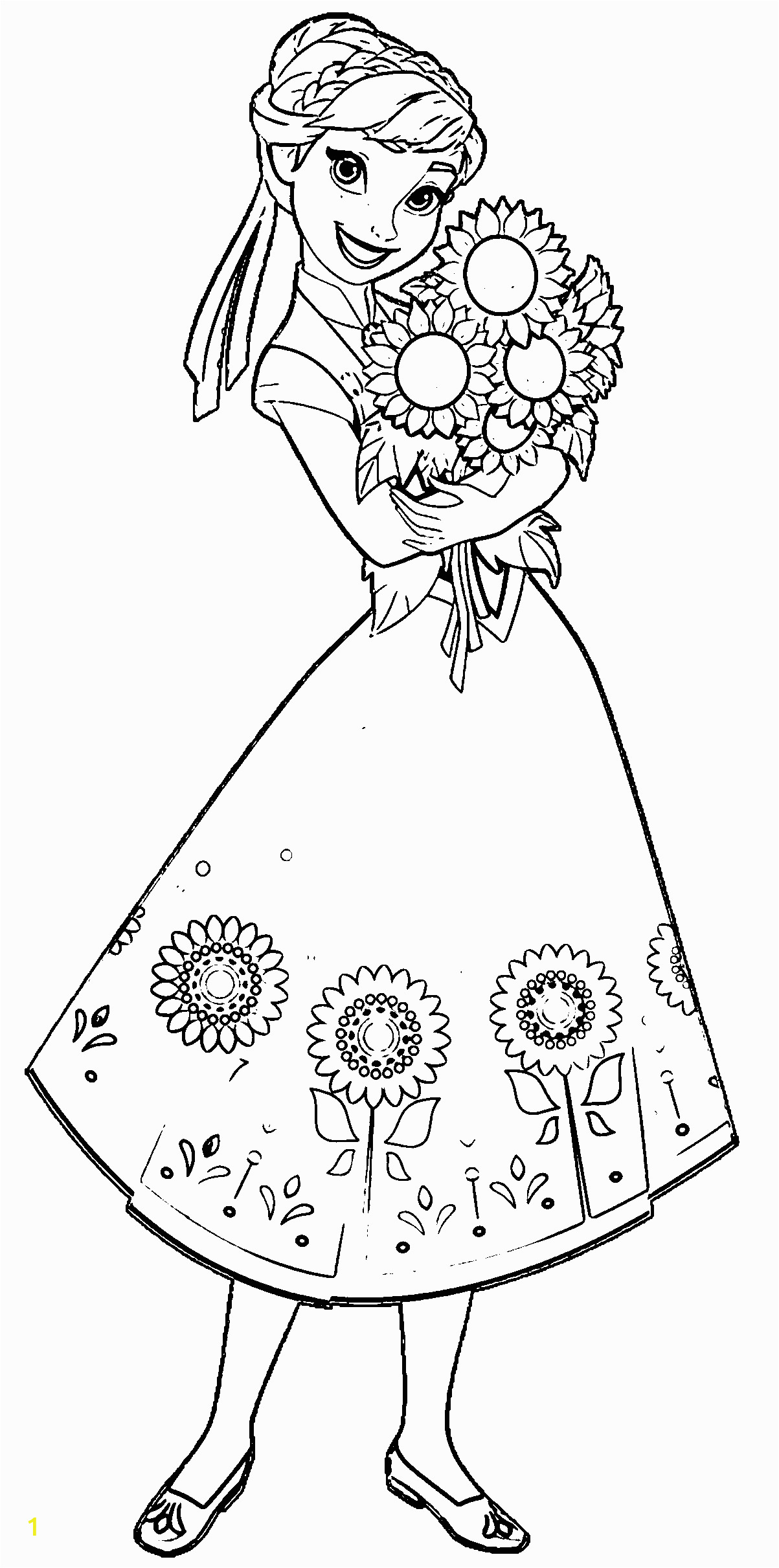 Printable Sunflower Coloring Page Pin On Coloring Pages