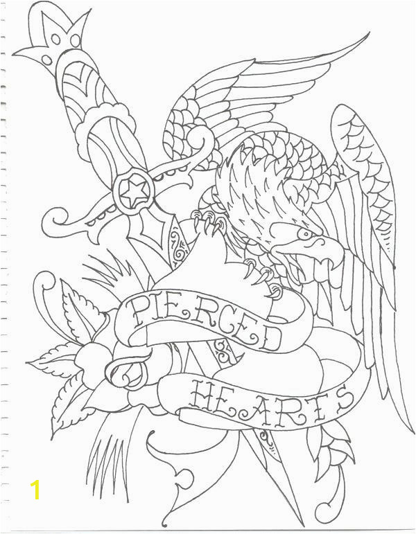 elegant coloring pages eagle printable