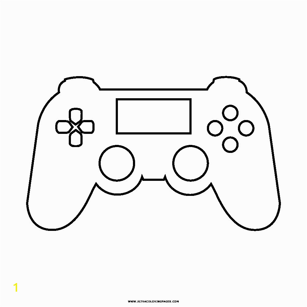 also game controller coloring page on ps4