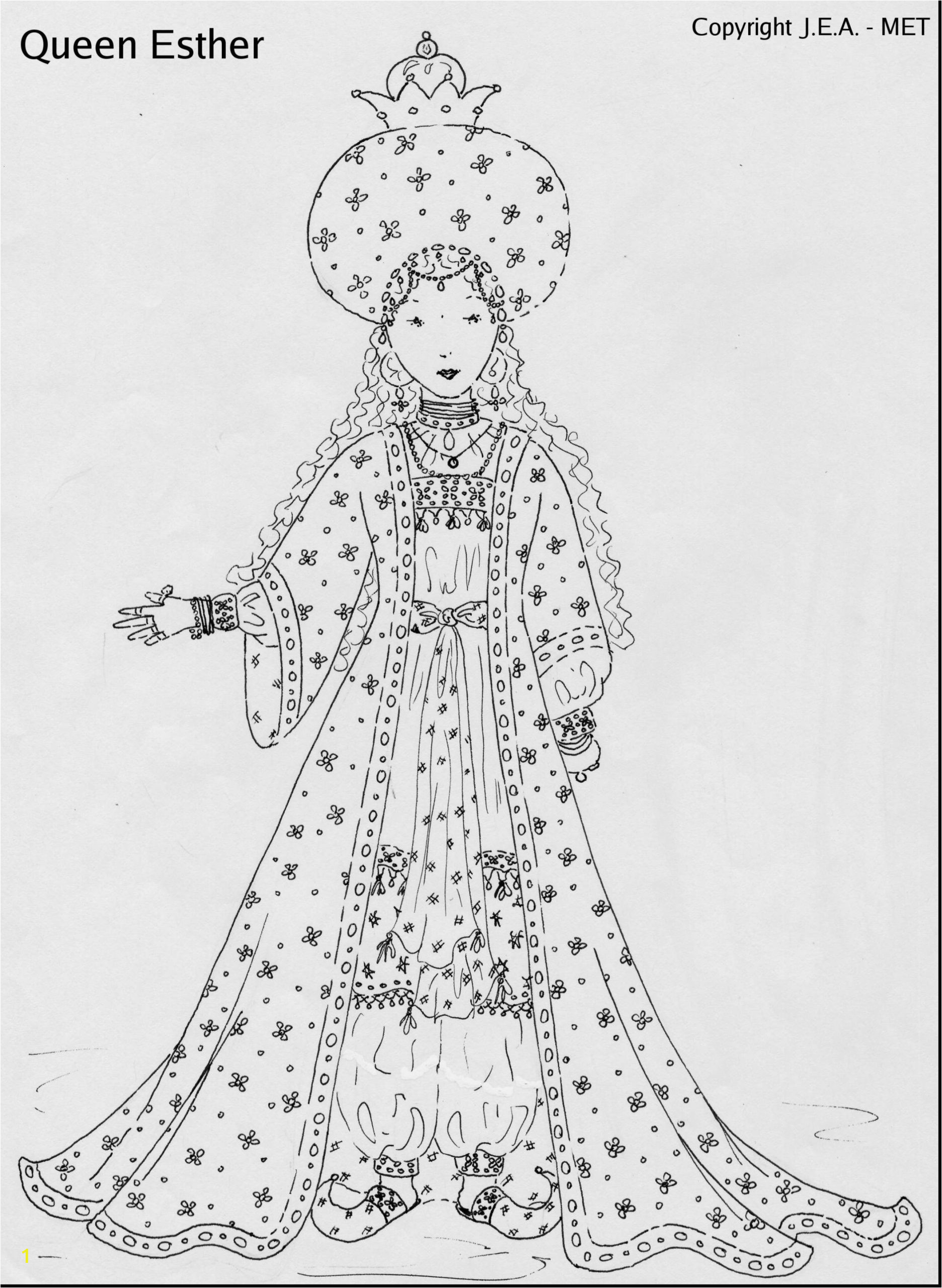 queen esther coloring pages full size of with wallpapers fun time for scaled