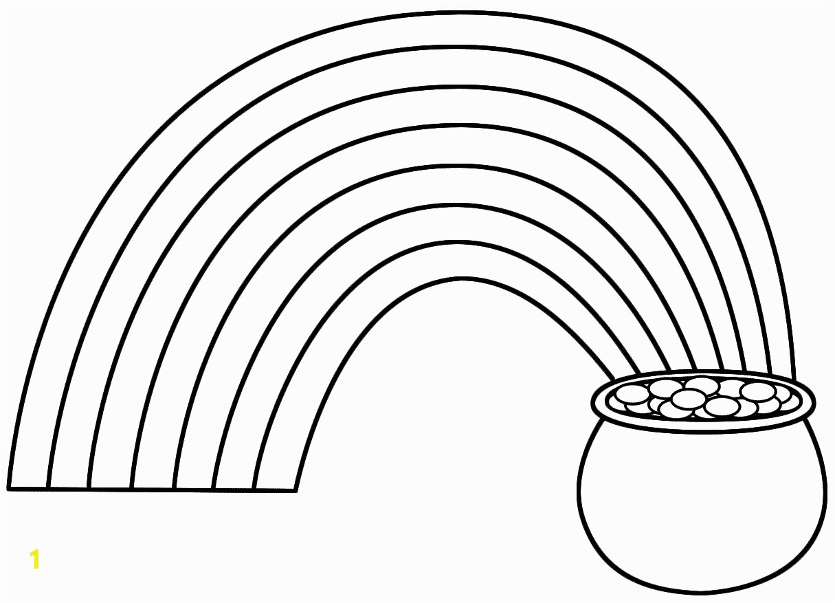 b33df1e faa9a e6572a4e9 rainbow pot of gold clip art black and white coloring page for 1215 877