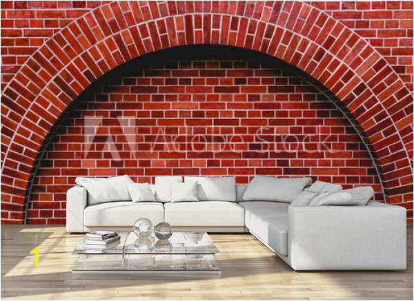 home design living room sofa apartament oleksajewicz arch od red brick wall artistic background regular texture C