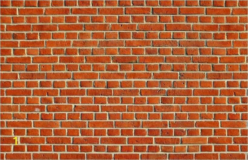 Red Brick Wall Mural Red Brick Wallpaper Mural