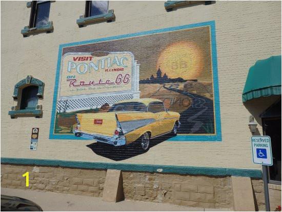 great car mural