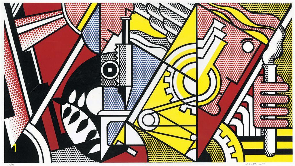 roy lichtenstein peace through chemistry i from peace through chemistr d g