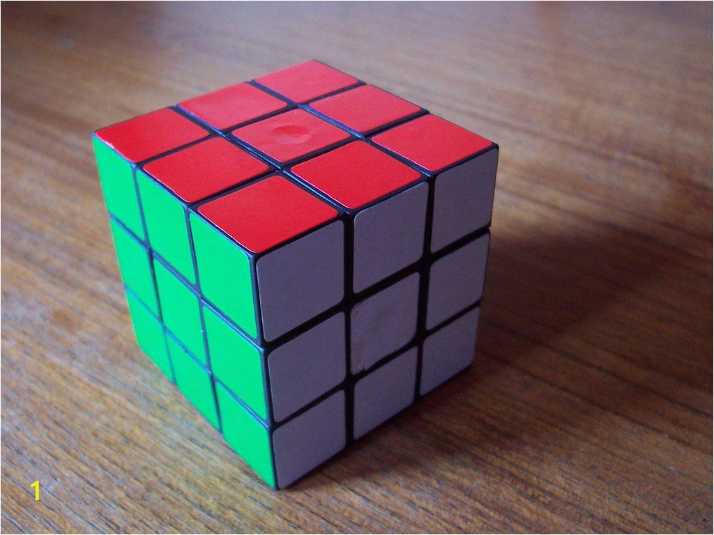 Rubiks Cube Coloring Page File Cubo Rubik 1 Wikimedia Mons