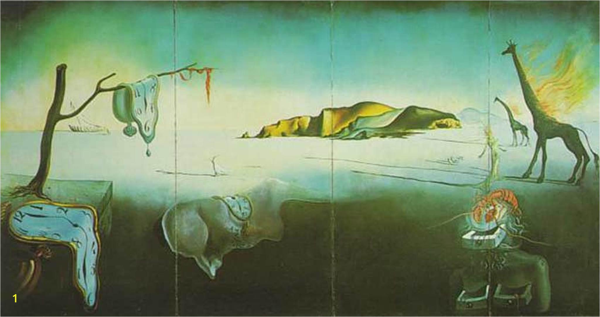 the dream of venus painter salvador dali