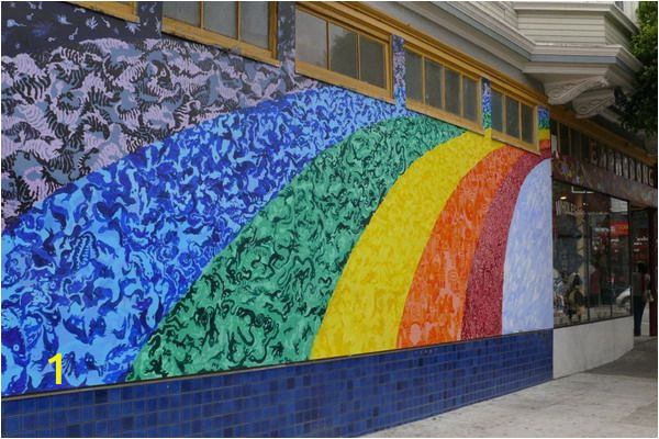San Francisco Wall Mural Creative Murals Fence Painting
