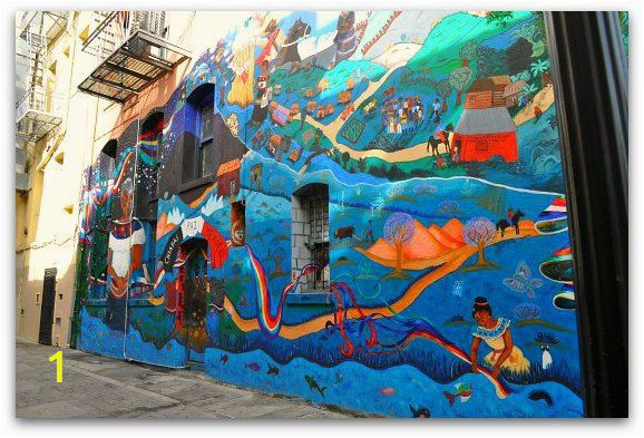 San Francisco Wall Mural north Beach San Francisco Things to Do In Little Italy