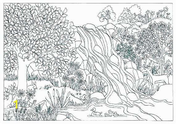 landscape colouring pages printable scenery coloring pages landscape coloring pages free