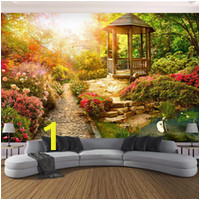 custom mural wallpaper 3d stereo sunshine