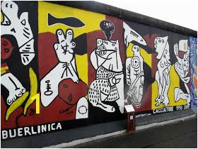 Sejarah Berlin Wall Mural Kiss Nabil Aizat Bin Abdul Rahman Crossing the Berlin Wall