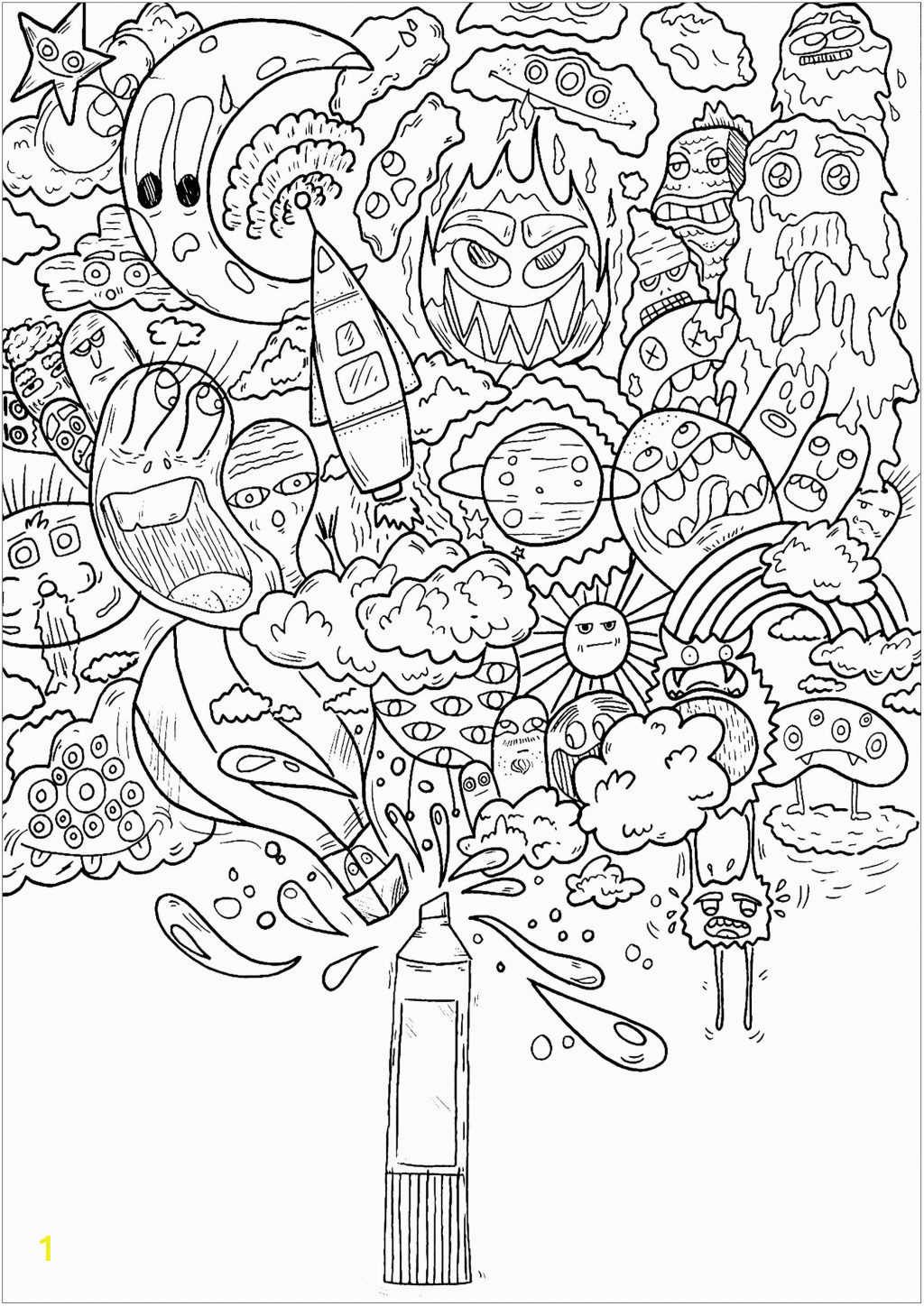 coloring pages doodles baby horse adult colouring lion books for visually impaired adults shopkins sheets serial killers book modern romance printable unicorn spring farm animal pretty 1024x1448